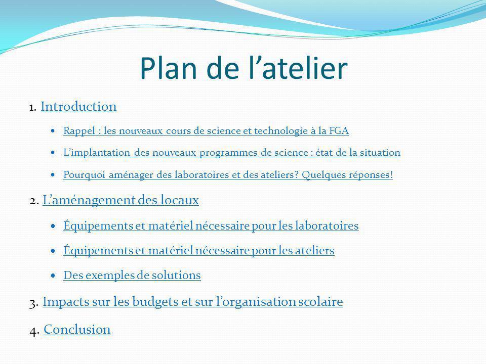 Plan de latelier 1.
