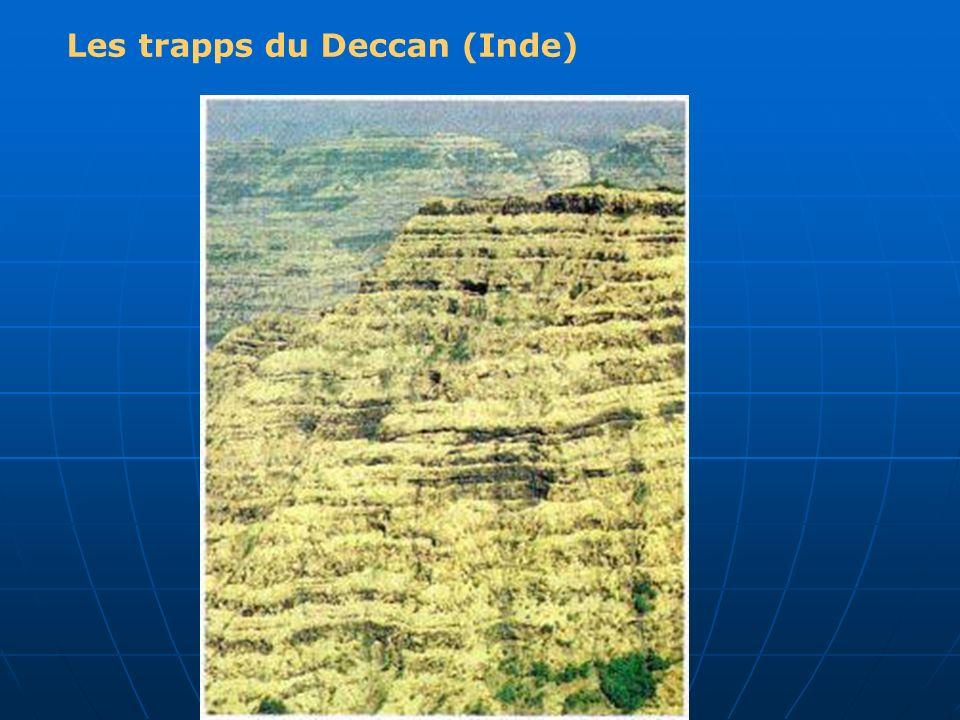 Les trapps du Deccan (Inde)