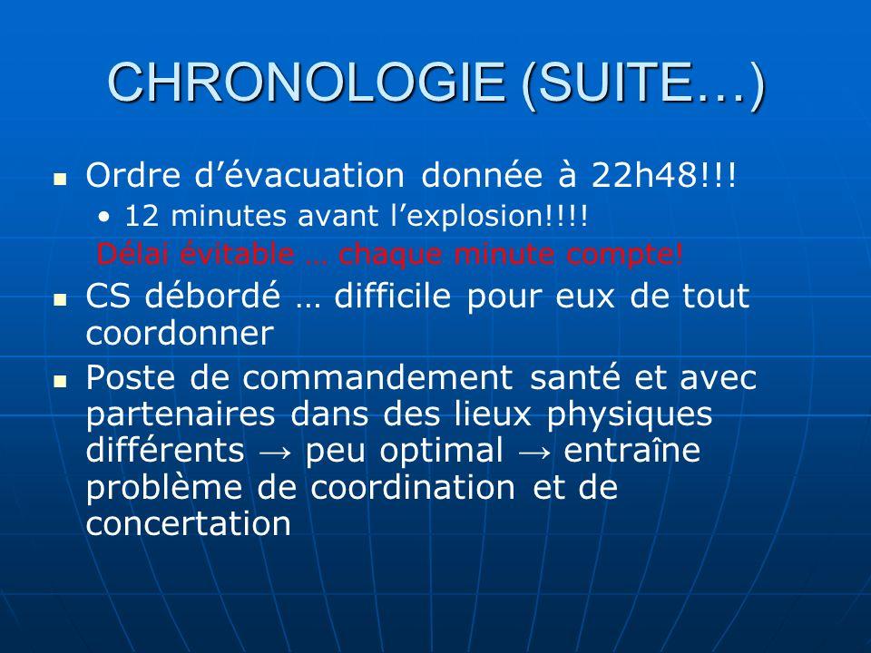 CHRONOLOGIE Ce sont les policiers qui reçoivent lappel à 21h35: une bombe a été placée au CS de Chibougamau et doit sauter à 23h.