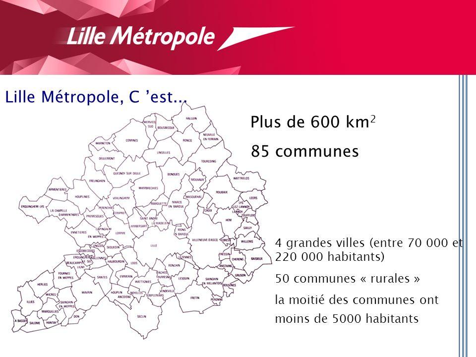 Lille Métropole, C est...