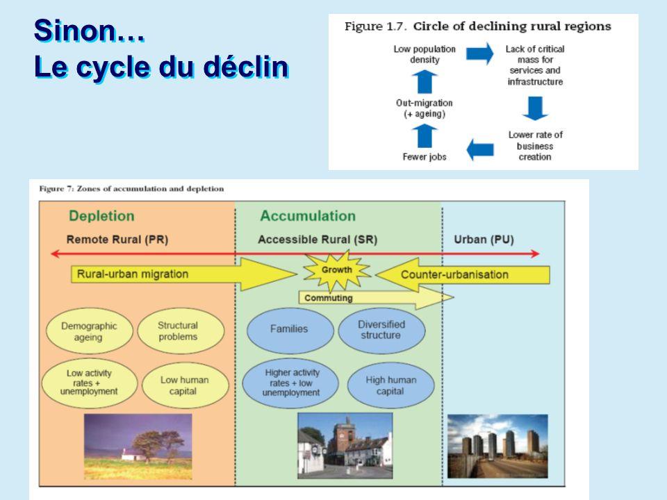 38 Que nous disent ces exemples : Quelles sont les prochaines étapes pour les politiques sur les services en milieu rural.