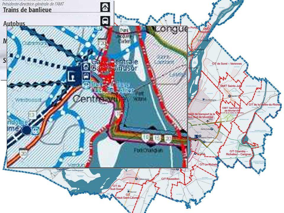 Actions métropolitaines récentes Actions métropolitaines récentes Carte de l organisation du TEC
