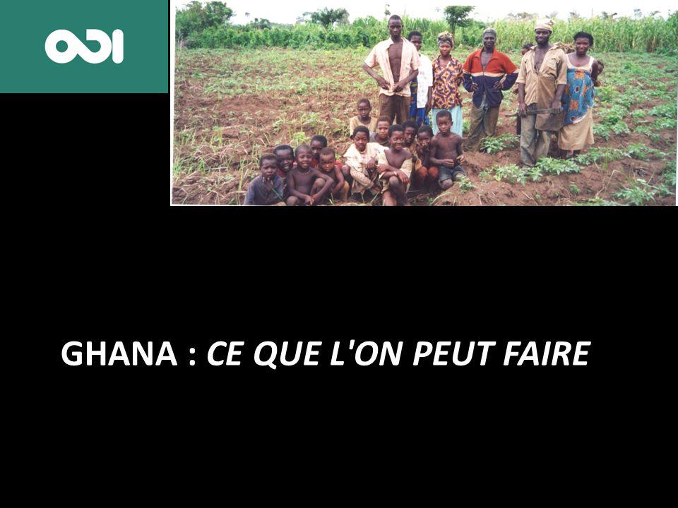 GHANA : CE QUE L'ON PEUT FAIRE