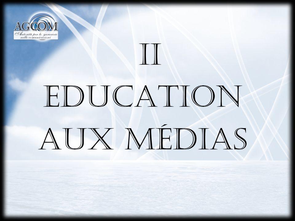 1.ALFABETISATION MÉDIATIQUE Art. 34, al.