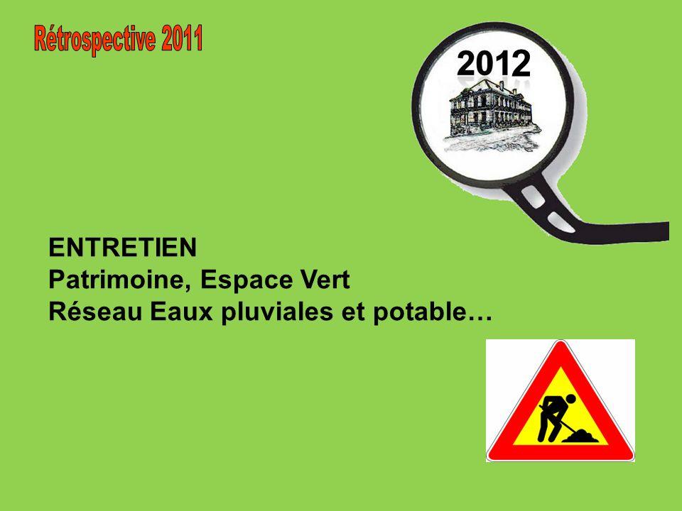 ENTRETIEN Patrimoine, Espace Vert Réseau Eaux pluviales et potable… 2