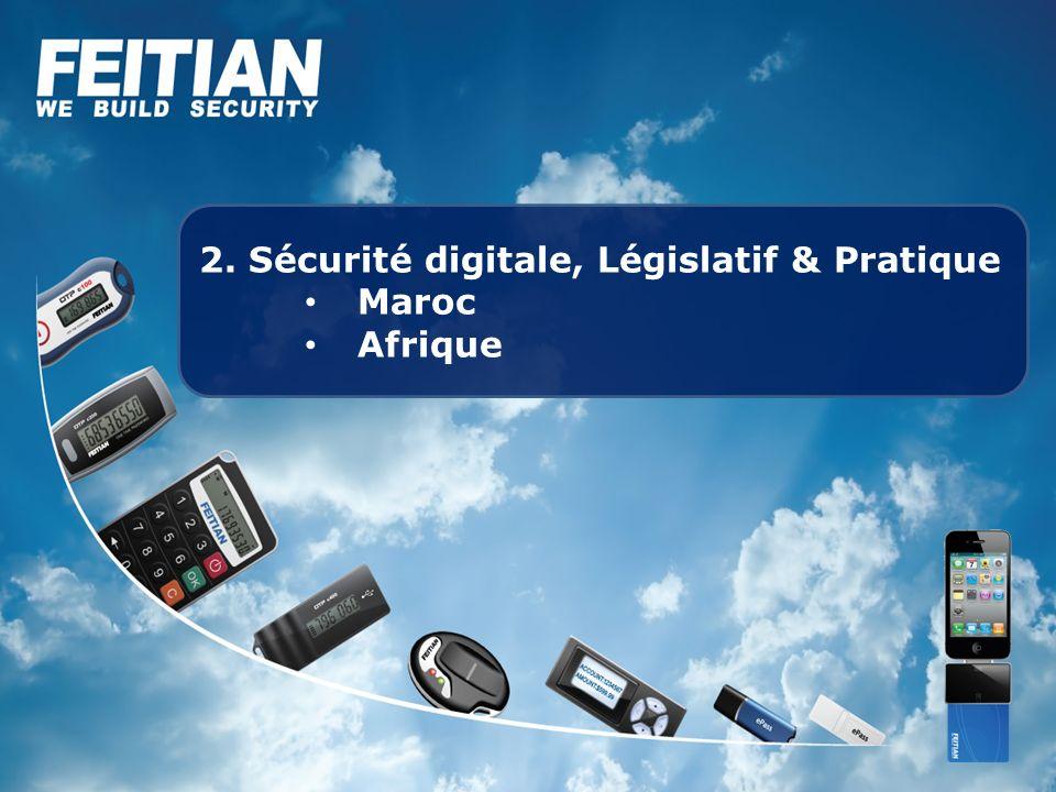 2. Sécurité digitale, Législatif & Pratique Maroc Afrique