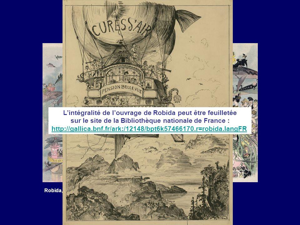 Robida, La sortie de lopéra en lan 2000, in « Le vingtième siècle », 1883 Lintégralité de louvrage de Robida peut être feuilletée sur le site de la Bi