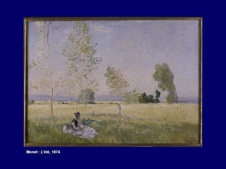 Monet : Lété, 1874