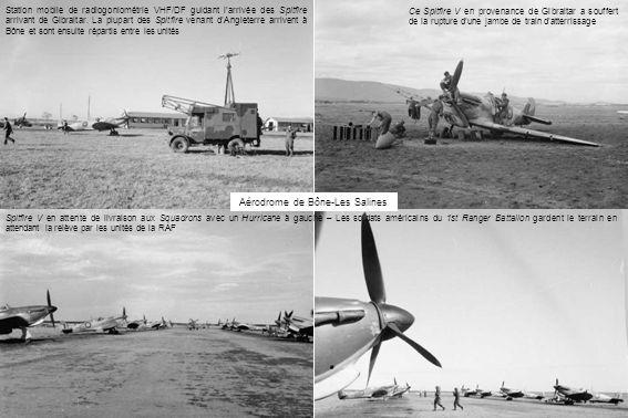 Station mobile de radiogoniométrie VHF/DF guidant larrivée des Spitfire arrivant de Gibraltar.