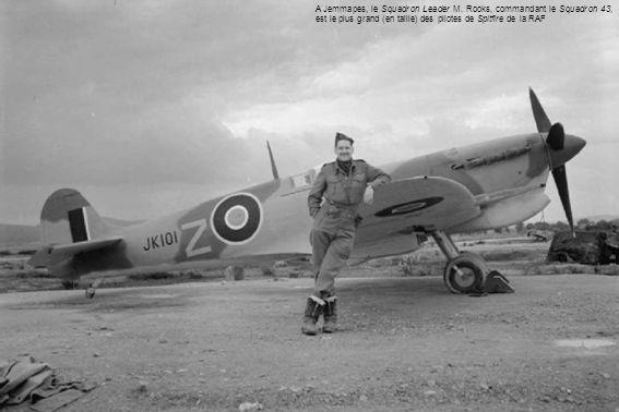 A Jemmapes, le Squadron Leader M.