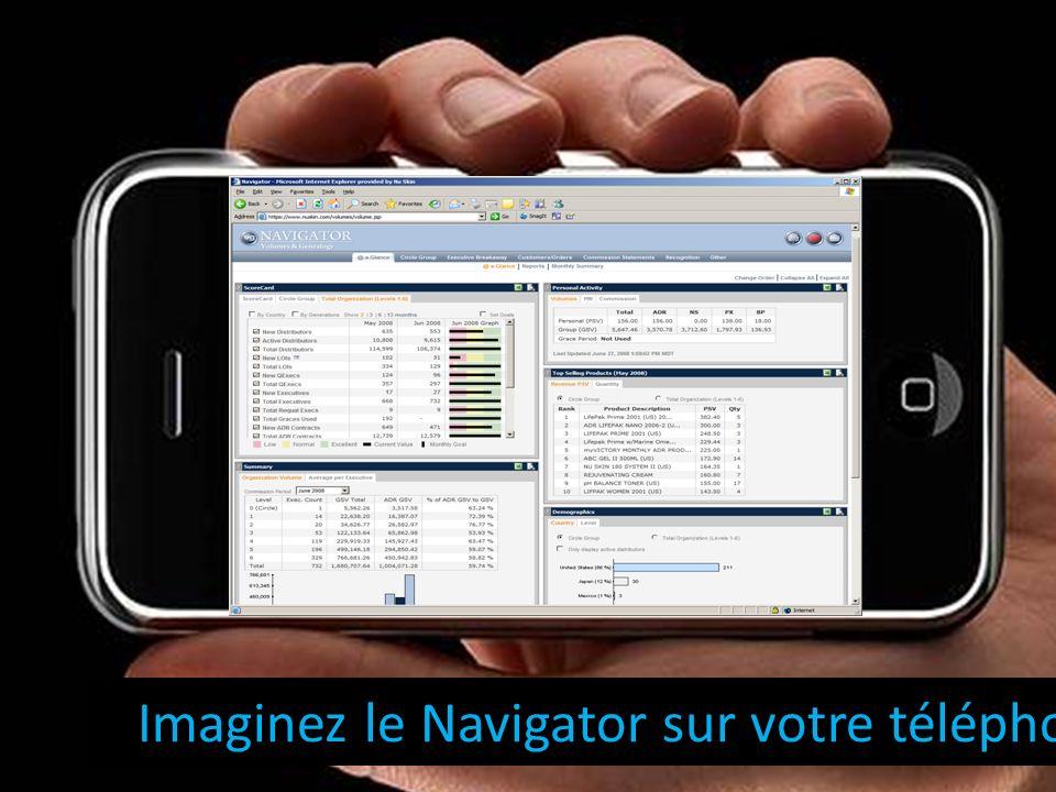 Imaginez le Navigator sur votre téléphone
