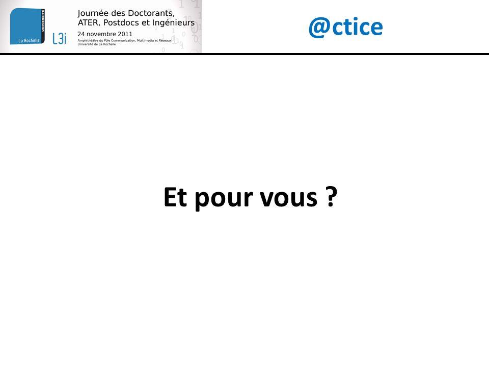 @ctice Et pour vous