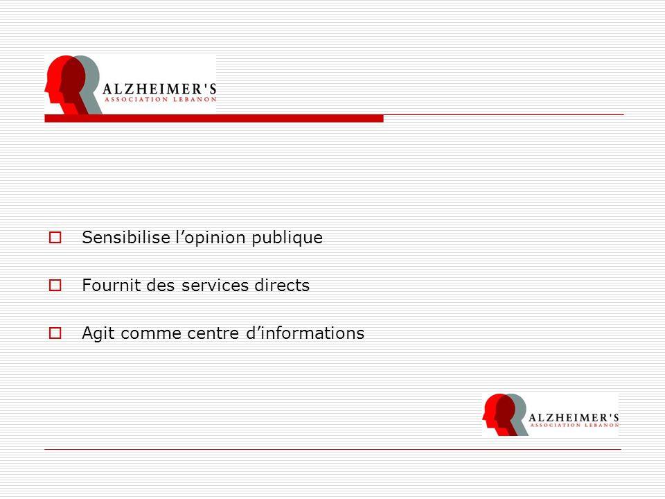 Vis à vis des Personnels dans les Hôpitaux Objectif Global Dans le but dameliorer la qualité de soins et de services, aux patients Alzheimer pendant leurs hospitalisations.