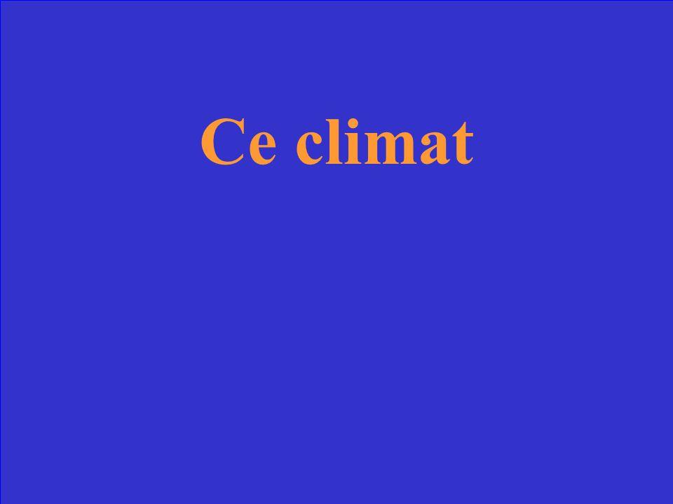Quest-ce que le climat continental