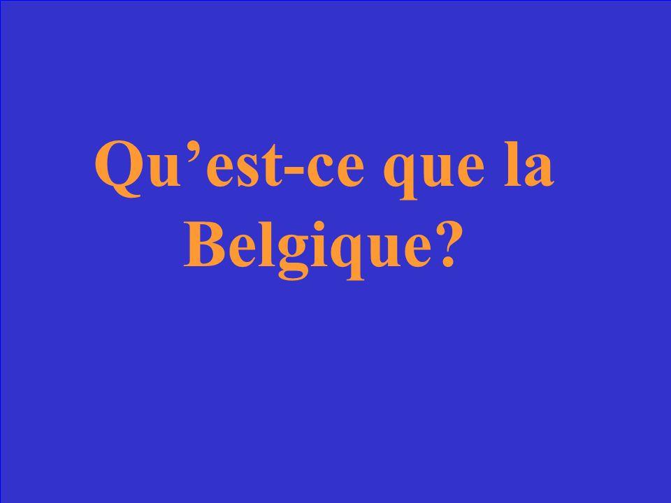 Ce pays, célèbre pour le chocolat et les gaufres, est à la frontière nord/nord- est de la France.