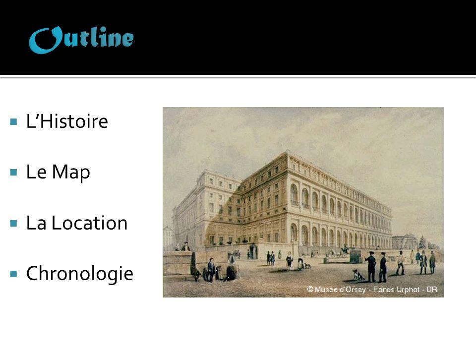 LHistoire Le Map La Location Chronologie