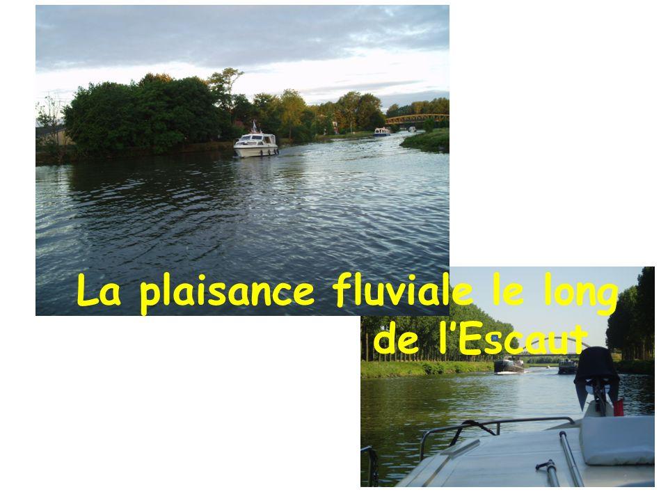 La plaisance fluviale le long de lEscaut 1