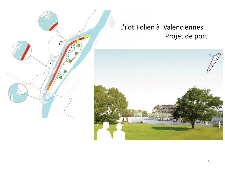 Lilot Folien à Valenciennes Projet de port 13