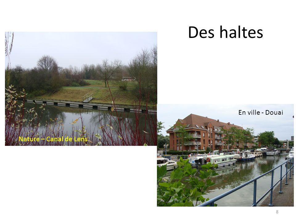 Des haltes Nature – Canal de Lens En ville - Douai 8