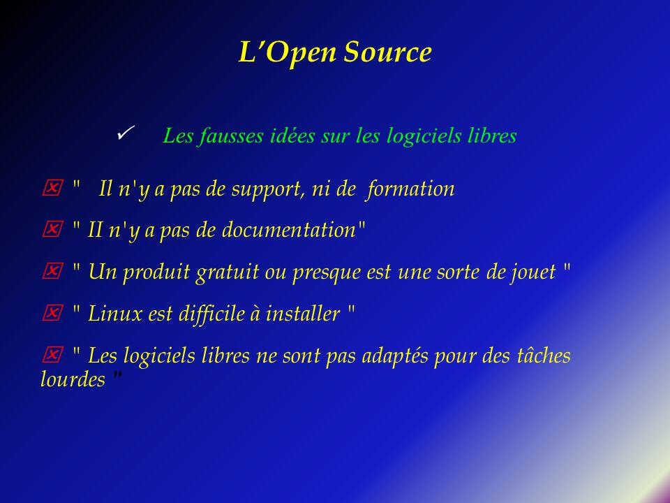 LOpen Source Les fausses idées sur les logiciels libres
