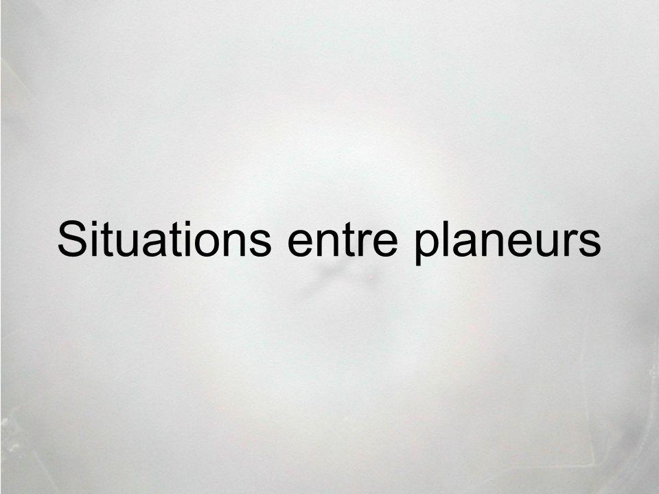 Situations entre planeurs