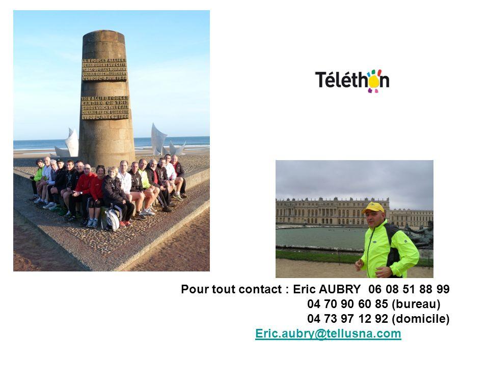 Pour tout contact : Eric AUBRY 06 08 51 88 99 04 70 90 60 85 (bureau) 04 73 97 12 92 (domicile) Eric.aubry@tellusna.com