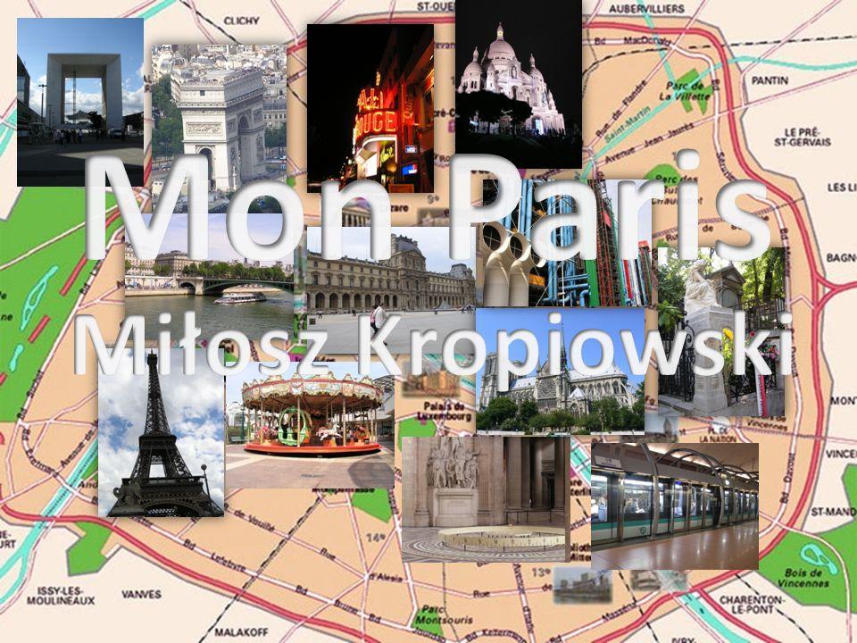 Paris - commune la plus peuplée et chef- lieu de la région Île-de-France.