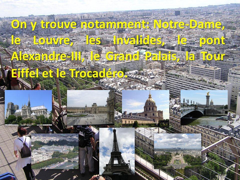 L Arc de Triomphe En haut des Champs- Élysées, sur la place de l Étoile, se trouve l Arc de triomphe, symbole national, véritable trait d union entre le Paris ancien et le Paris contemporain