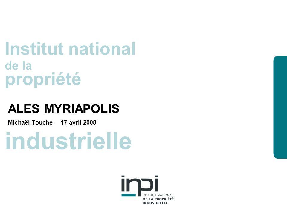 industrielle Institut national de la propriété La recherche dinformation propriété industrielle