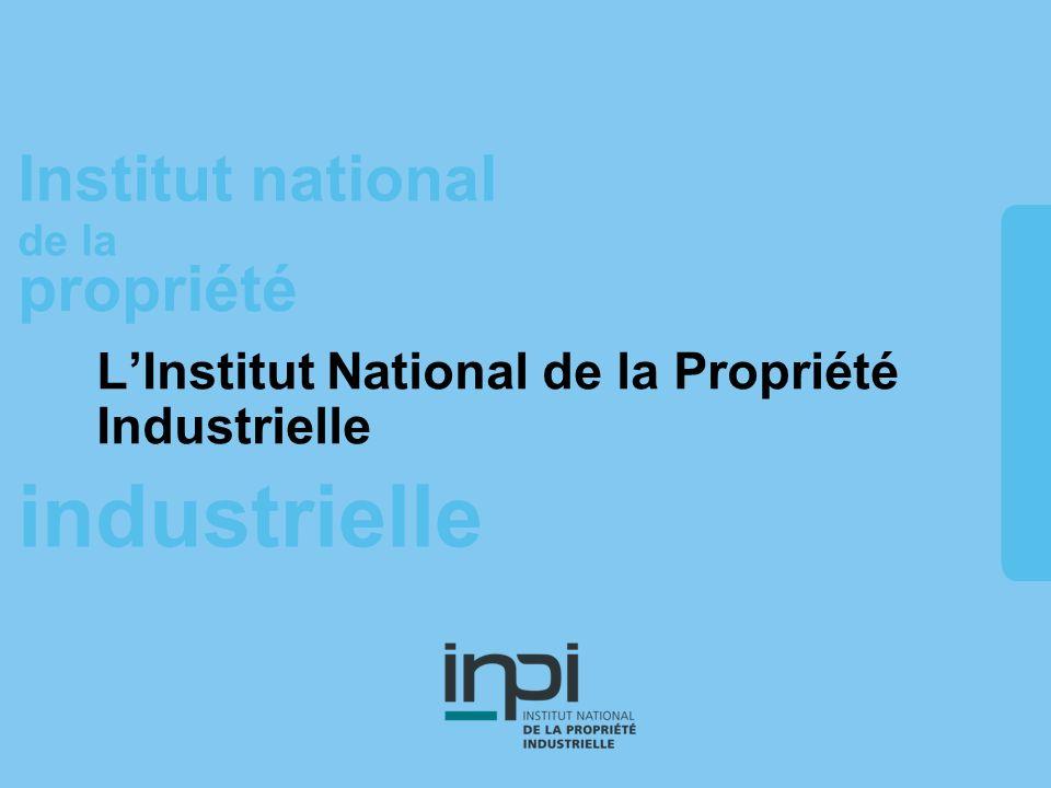 industrielle Institut national de la propriété industrielle Institut national de la propriété ALES MYRIAPOLIS Michaël Touche – 17 avril 2008