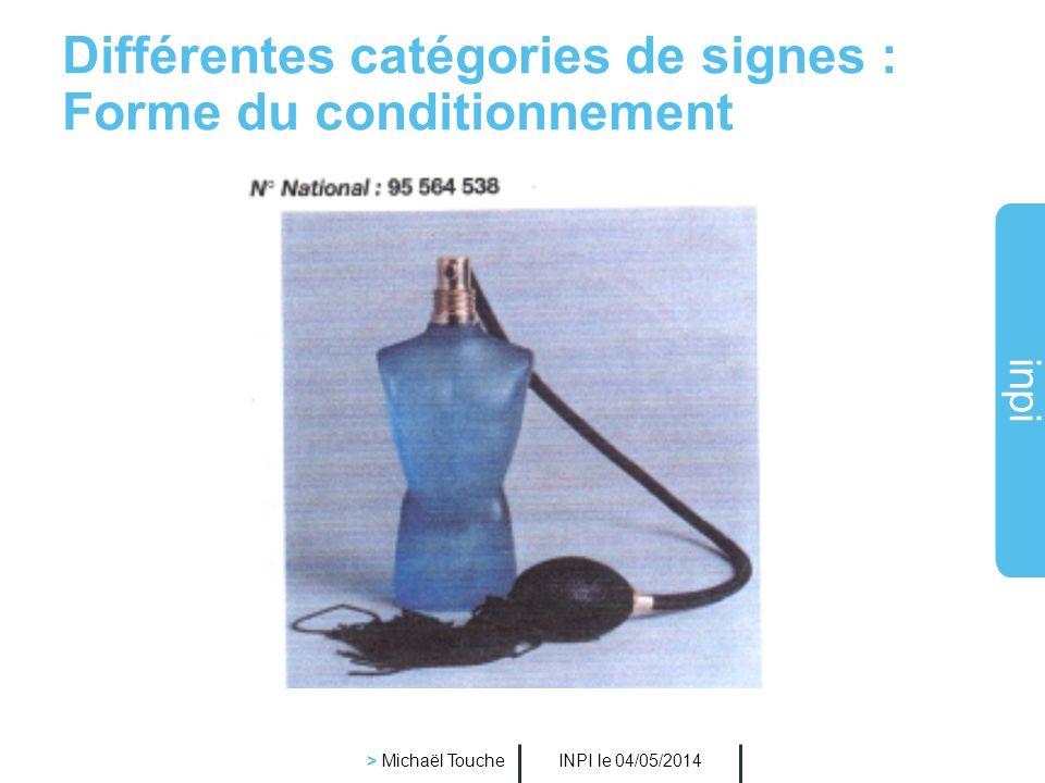 inpi INPI le 04/05/2014 > Michaël Touche Que peut-on déposer comme marque?
