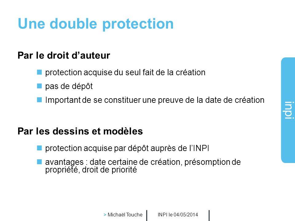 industrielle Institut national de la propriété La PROTECTION DU DESIGN