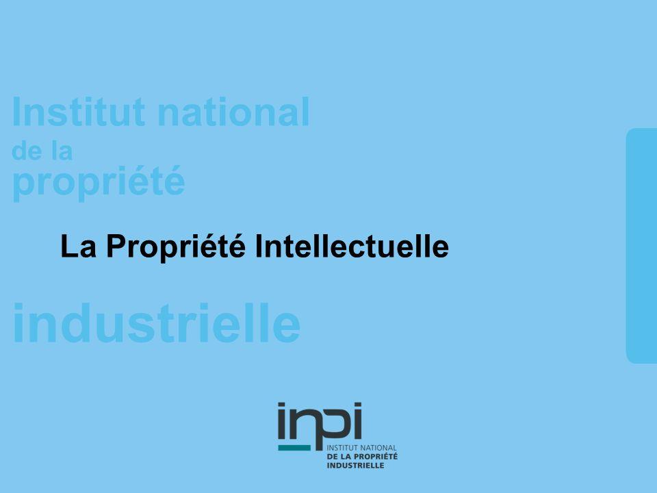 industrielle Institut national de la propriété La Propriété Intellectuelle