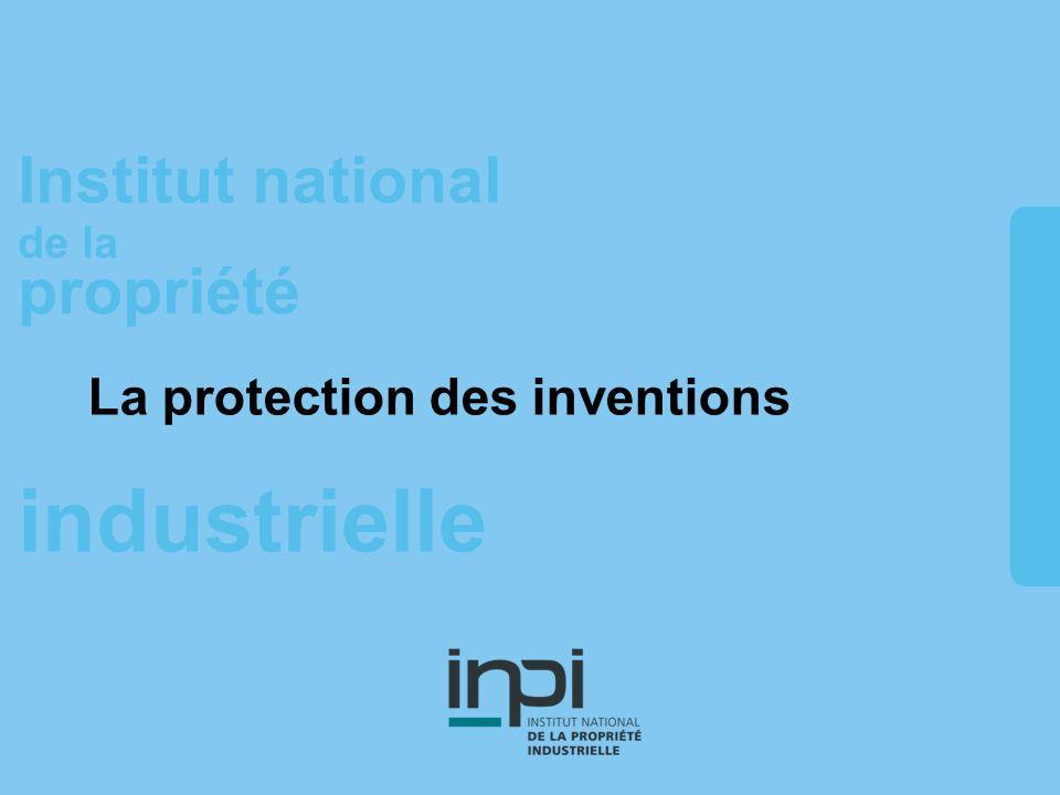 industrielle Institut national de la propriété La protection des inventions