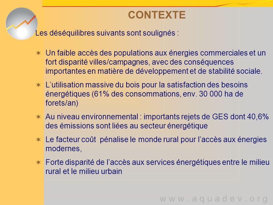 w w w.a q u a d e v. o r g UTILISATION DIVERSIFIEE Les ERV au service des ménages ….
