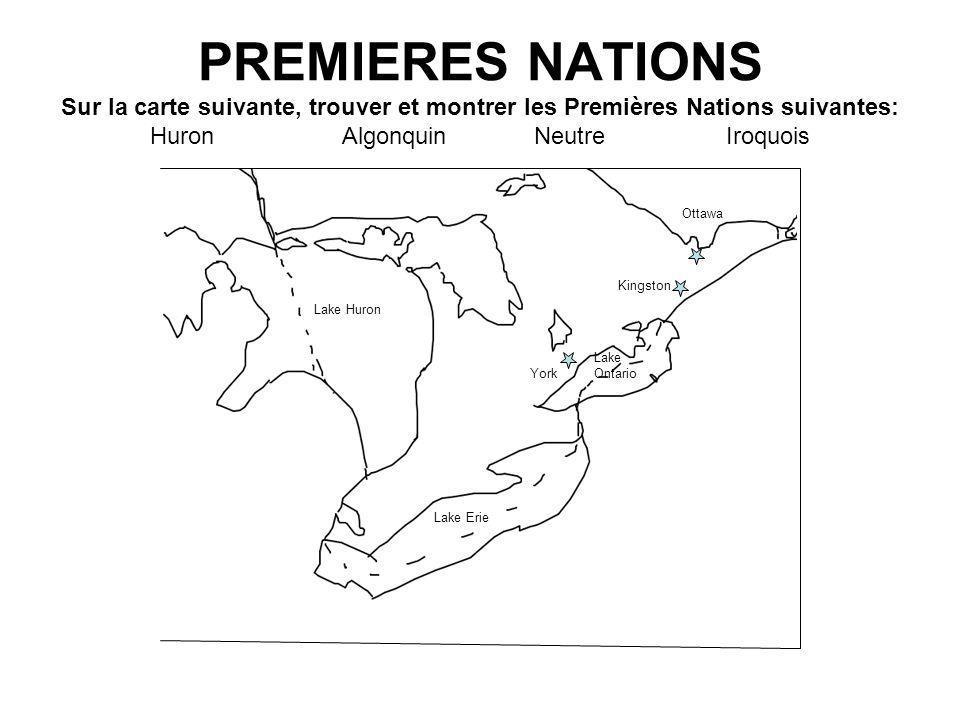 Remplir les trous: Les Pionniers et les Amérindiens avait des _________ différentes à propos de comment utiliser la terre.
