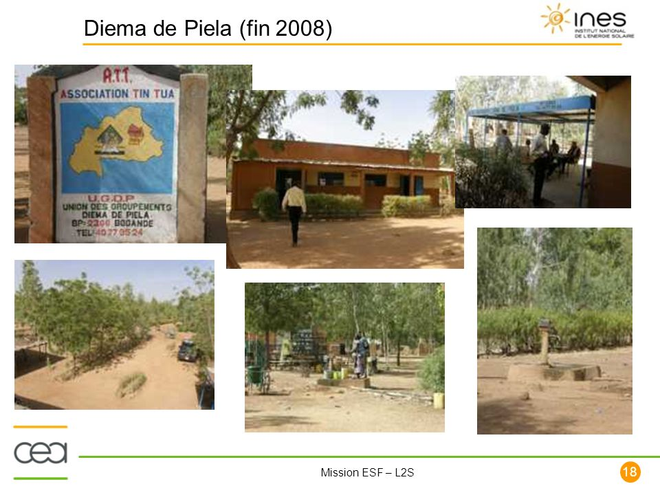18 Mission ESF – L2S Diema de Piela (fin 2008)