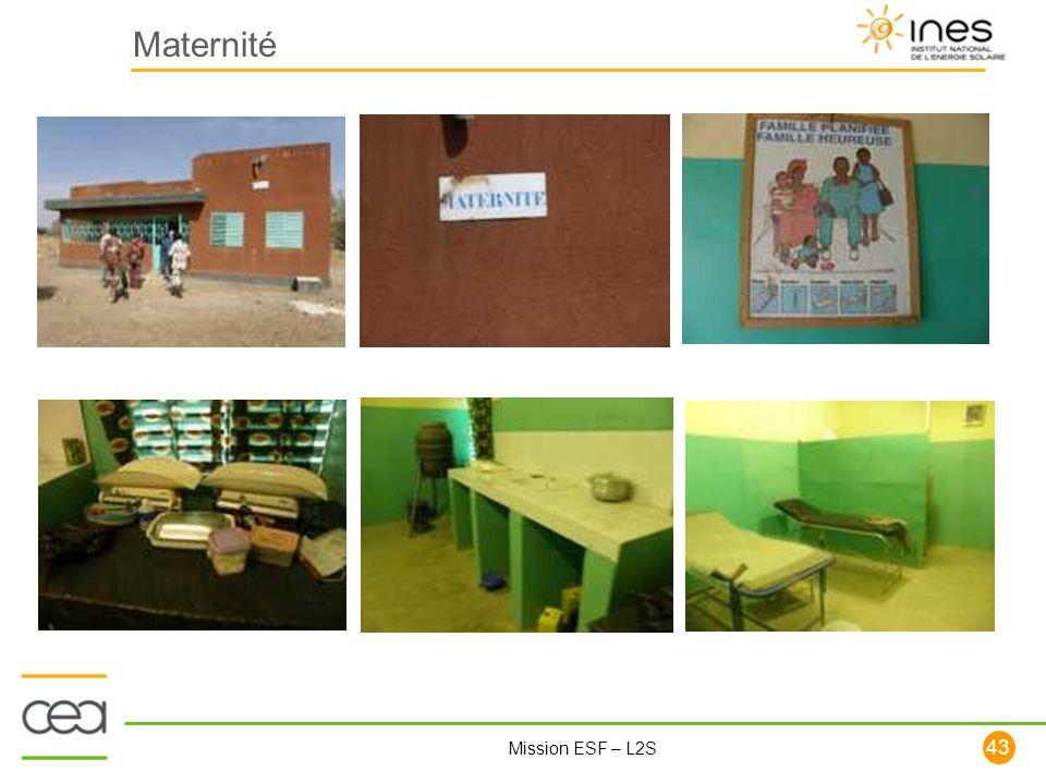 43 Mission ESF – L2S Maternité