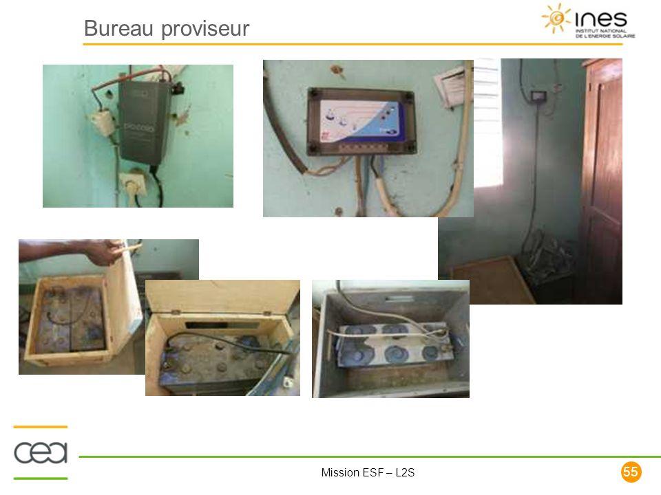 55 Mission ESF – L2S Bureau proviseur