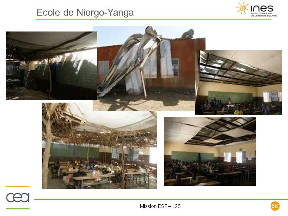 68 Mission ESF – L2S Ecole de Niorgo-Yanga