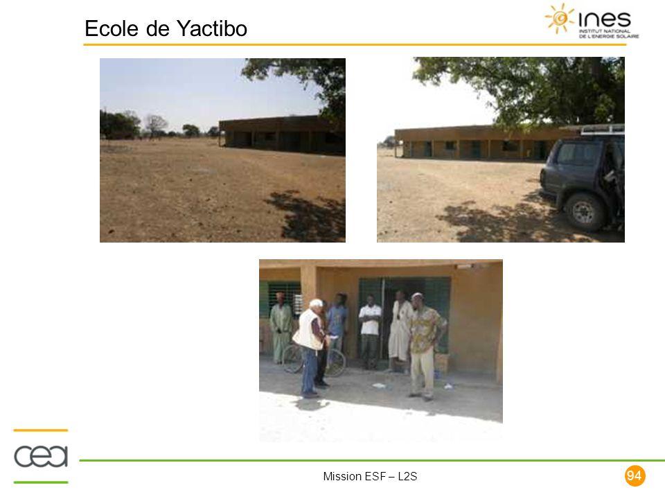 94 Mission ESF – L2S Ecole de Yactibo