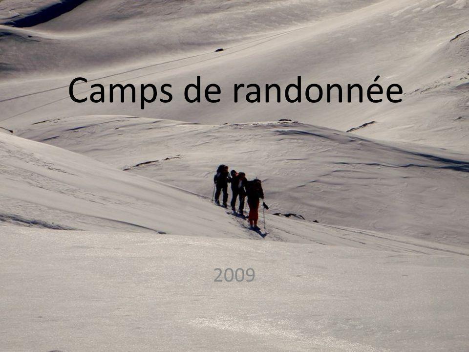 Camps de randonnée 2009