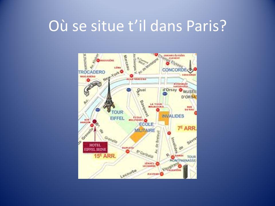 Où se situe til dans Paris?