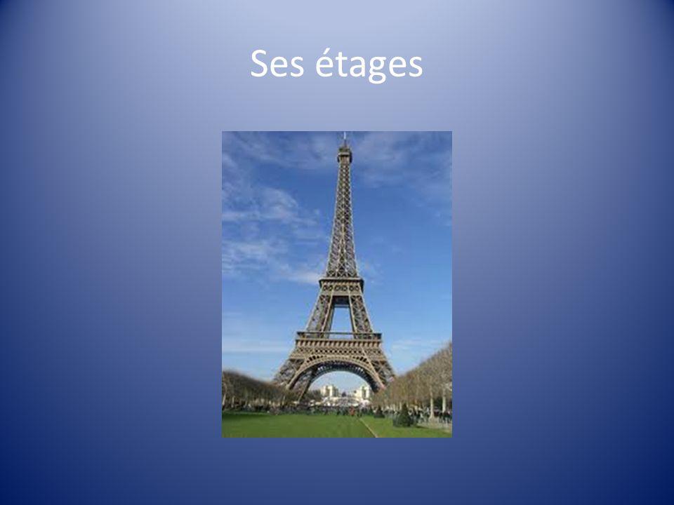 Ses éclairages A sa création la Tour Eiffel était éclairée par des lampes à gaz.