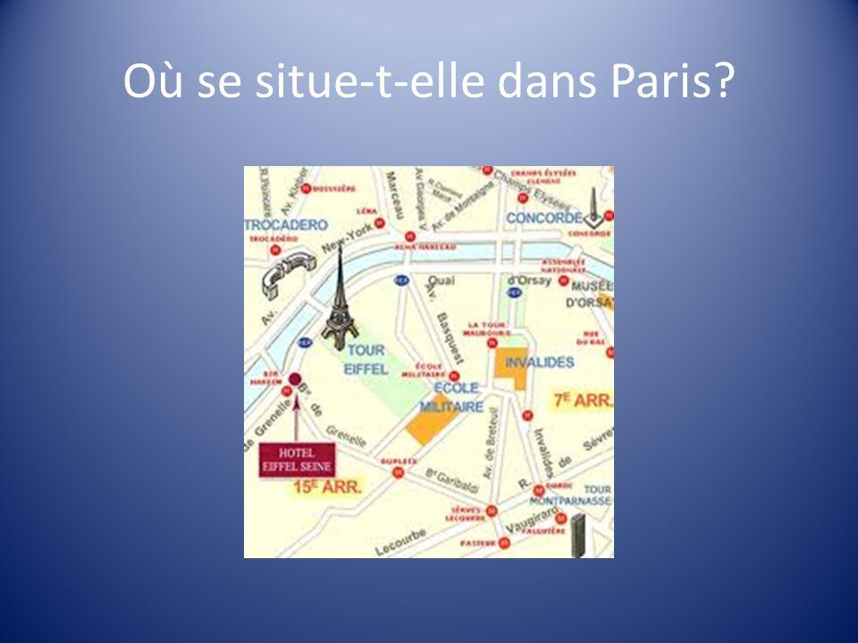 Où se situe-t-elle dans Paris?