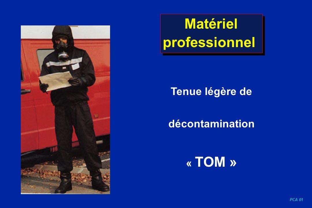 PCA 01 Matériel professionnel Tenue légère de décontamination « TOM »