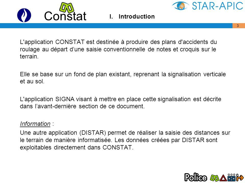 Constat 4 Le méthodologie est présentée en 9 étapes.