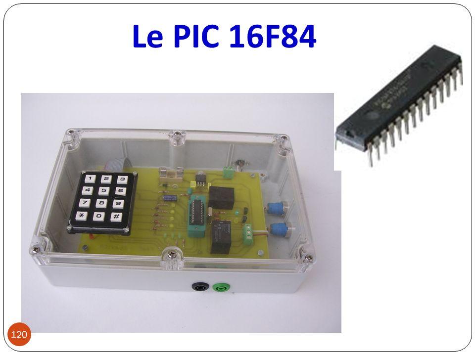 Le PIC 16F84 120