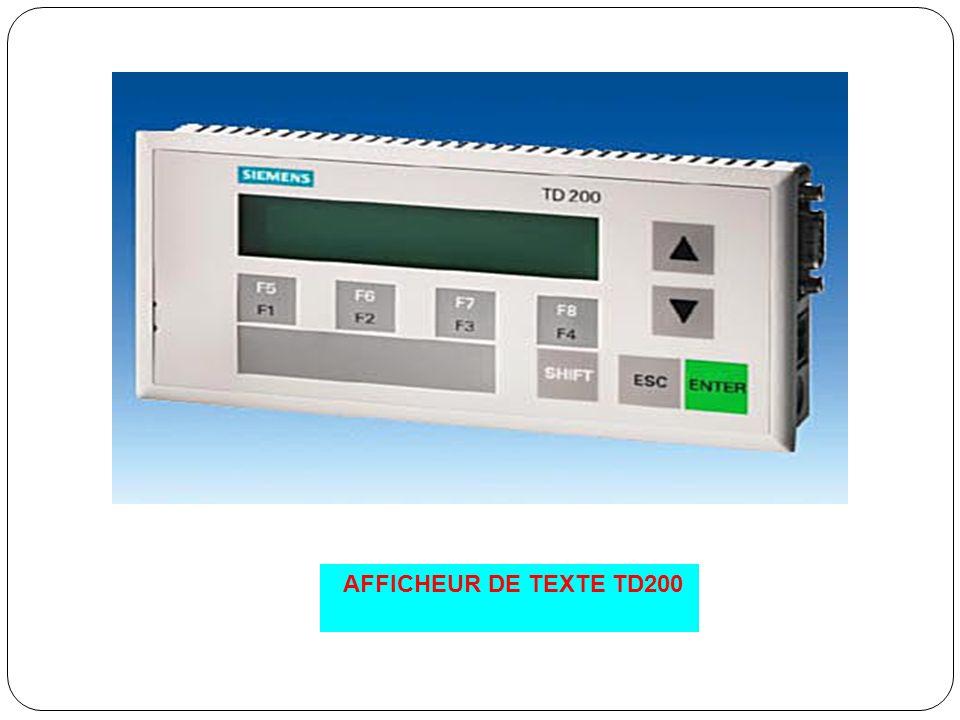 AFFICHEUR DE TEXTE TD200