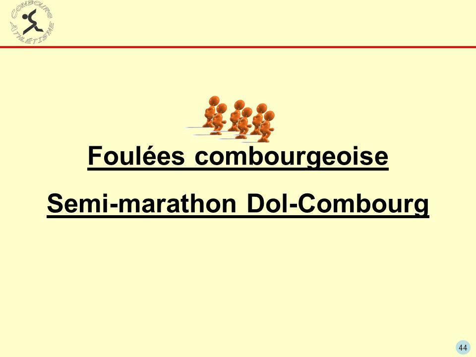 44 Foulées combourgeoise Semi-marathon Dol-Combourg
